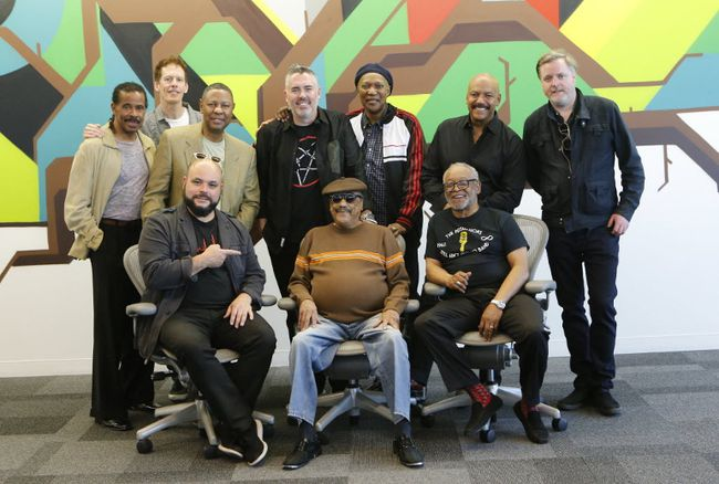 The Barenaked Ladies and famed Brooklyn group, The Persuasions, have joined musical forces. MICHAEL PEAKE/ POSTMEDIA