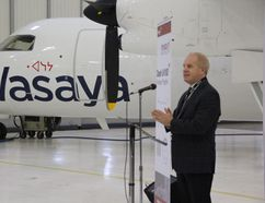 Scott Tapson, president of Voyageur Aviation Corp.