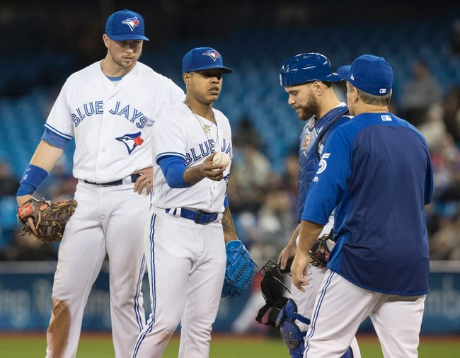 Columnist Ben McLean has some ideas to spark the Toronto Blue Jays to more victories. The team lost 12 of its first 15 games this season. (Fred Thornhill/The Canadian Press)