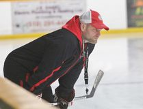 Listowel Cyclones head coach Jason Brooks has been an inspiration for his players as he battles a benign brain tumour. (Cory Smith/The Beacon Herald)