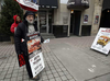 A man stands outside The Morgentaler Clinic where he said he's protested abortions for the past four and a half years Monday December 07, 2015. DARREN BROWN / OTTAWA CITIZEN