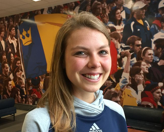 Cross-country runner Claire Sumner is one of four finalists for the Jim Thompson Trophy, awarded annually to the U Sports female athlete of the year.