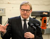 Education Minister David Eggen told local parents he has reviewed the Elk Island Public Schools board of trustees' decision to shut down Ministik School, and that the board acted appropriately in its decision-making process. Photo by David Bloom/Postmedia Network
