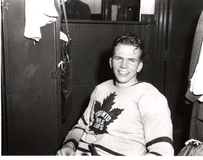 Bill Barilko scored the Stanley Cup winning goal for the Toronto Maple Leafs on April 21st, 1951. Later that summer, the young hockey player disappeared in a plane crash. The wreckage was found in 1962 and Bill finally came home to rest in the Timmins Memorial Cemetery.