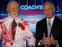 Don Cherry (left) and his Coach's Corner co-host Ron MacLean (TWITTER)