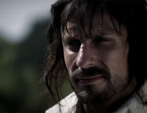 """An actor portrays Samuel de Champlain in the CBC series """"The Story of Us."""" (screengrab)"""