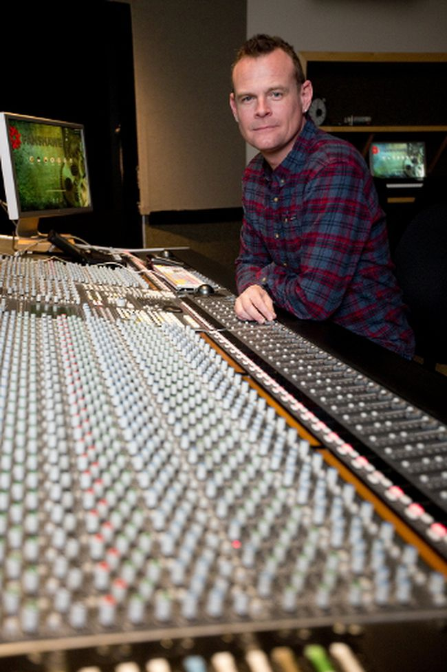 Dan Brodbeck is program director for Fanshawe College's music industry arts program, which has been named as the best music school at the Canadian Music Week awards. Brodbeck says faculty see their work as more than a job. (MIKE HENSEN, The London Free Press)