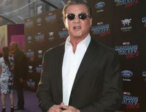 """Actor Sylvester Stallone at The World Premiere of Marvel Studios' """"Guardians of the Galaxy Vol. 2."""" at Dolby Theatre in Hollywood, CA April 19th, 2017 (Photo by Rich Polk/Getty Images for Disney)"""