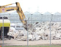 Work has already begun on the expansion to the Kincardine 7 Acres medical cannabis greenhouse facility. The company said it could hire up to 300 people by 2019, investing over $70 million. (Troy Patterson/Kincardine News and Lucknow Sentinel)