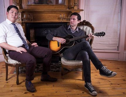 Local musicians John Pilat and Evan Dawe (aka Evan & John) will be making a return appearance at Sarnia's Cheeky Monkey during First Friday festivities on Friday, May 5. Handout/Sarnia This Week
