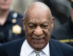 "In this April 3, 2017, file photo, Bill Cosby departs after a pretrial hearing in his sexual assault case at the Montgomery County Courthouse in Norristown, Pa. Evin Cosby writes in an opinion piece for the National Newspaper Publishers Association published Wednesday, April 26, 2017, that her father ""is not abusive, violent or a rapist."" (AP Photo/Matt Rourke, File)"