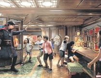 The all-new Marvel Super Hero Academy will be featured on the cruise ship Disney Fantasy. (photo Special to Postmedia News)