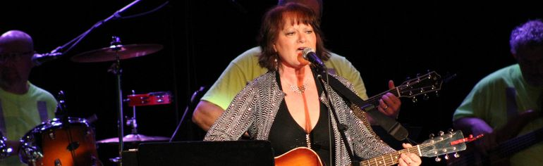 Wendy Gayle, concert organizer, closed the show with songs by Loretta Lynn and Dolly Parton.