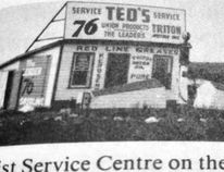 """Photo/Along the Wapiti, Kathryn Auger, Wikipedia The Feist """"super station"""" opened in May 1936 on Hwy. 1, when then jogged north at the La Glace turnoff just past Wembley."""