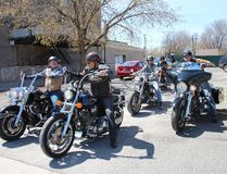 <p>It was a perfect day for a ride on Thursday and plenty of people decided to soak up the sun on the back of their motorcycles, including this group that hit the road again after lunch on Thursday April 27, 2017 in Cornwall, Ont. </p><P> Alan S. Hale/Cornwall Standard-Freeholder/Postmedia Network
