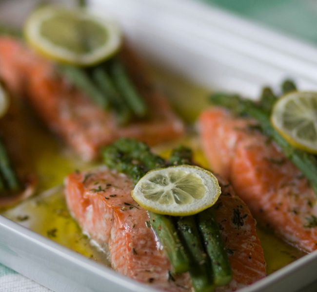 Salmon is an excellent source of omega-3 fatty acids. 