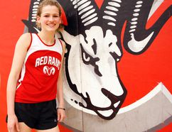 BCI Red Rams Corinne Schonewille is off to a quick start to the track-and-field season and is looking to earn her first trip to OFSAA this year. (Jonathon Brodie/The Recorder and Times)