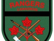 Canadian Rangers crest mourning