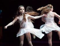 A young girl performs a lyrical routine during Vermilion Dance Association's Fire In My Soul Year End Recital, at the Lakeland College Alumni Theatre Hall on Saturday, April 29, 2017, in Vermilion, Alta. Taylor Hermiston/Vermilion Standard/Postmedia Network.