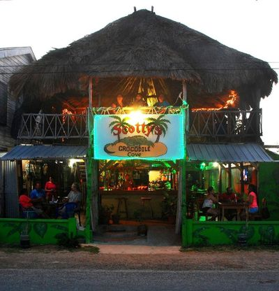 Scotty's Crocodile Cove, where Drew DeVoursney and Francesca Matus were the night they vanished in Belize.