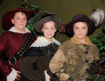 Lambton Young Theatre Players Ryan Godwin, Ryan Oliver and Owen Layne star as the Three Musketeers Handout/Sarnia This Week