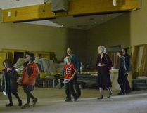 Over 100 members of the Cochrane Alliance Church stopped by their building on Sunday to see how the expansion is coming along, a project started last August in order to provide more room for the youth ministry and community events.