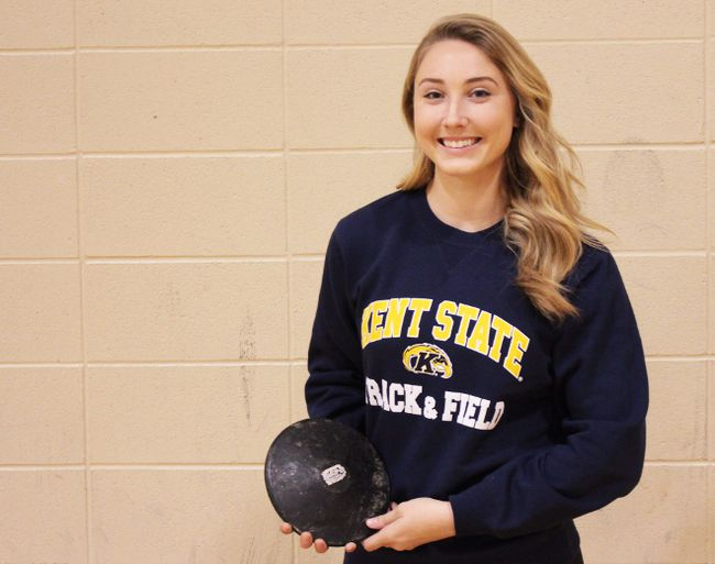 Discus, javelin and shotput thrower Grace Tennant will be attending Kent State University on an athletic scholarship after she graduates from South Lincoln High School. COREY LeBLANC/Special to Postmedia Network