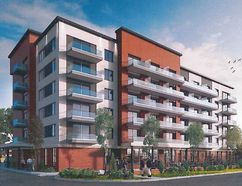 A concept drawing of the six-storey, 80-suite retirement residence planned for the site of the old Ramada Inn near Wellington St. and First Ave. in St. Thomas. (Contributed photo)