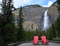 Takakkaw Falls in Yoho National Park is one of the great sights in Western Canada. It's one of the best parks in the country. JIM BYERS PHOTO