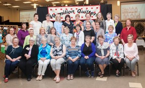 Members of the Vermilion Quilting Guild 2017. Taylor Hermiston/Vermilion Standard/Postmedia Network.