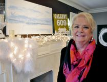 Annette Dutton's Gallery 609 offers a cozy spot to check out local art. CHRIS MONTANINI\LONDONER\POSTMEDIA NETWORK