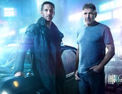 "RYAN GOSLING (left) as K and HARRISON FORD as Rick Deckard in Alcon Entertainment's ""BLADE RUNNER 2049,"" a Warner Bros. Pictures and Sony Pictures Entertainment release, domestic distribution by Warner Bros. Pictures and international distribution by Sony Pictures."