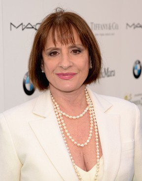 Actress Patti LuPone attends Women In Film Pre-Oscar Cocktail Party presented by MaxMara, BMW, Tiffany & Co., MAC Cosmetics and Perrier-Jouet at Hyde Sunset Kitchen + Cocktails on February 20, 2015 in Los Angeles, California. (Photo by Jason Kempin/Getty Images for WIF & Perrier-Jouet)
