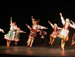 The Opening Welcome dance by the senior A and B dancers.
