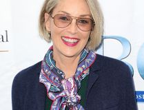 Sharon Stone has stopped looking for love and would rather show her affection to her three adopted children. (FayesVision/WENN.com)