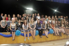 The youth of Whitecourt were celebrated at the annual Spirit of Youth Awards at Whitecourt Central School on May 4 (Joseph Quigley   Whitecourt Star).