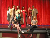 Bert Church drama students have been rehearsing for their upcoming play Sherlock Holmes, being shown at the Bert Church Theatre May 11 to 13. Tickets can be purchased by calling the high school.