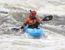 A kayaker takes part in Hell or High Water 8 last year on the Petawawa River.