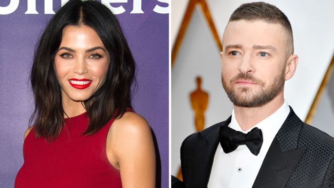 Jenna Tatum and Justin Timberlake (Getty Images)