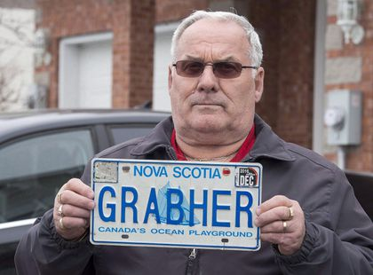 Grabher Licence Plate