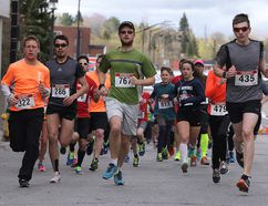Participants take part in the SUDBURYROCKS!!! Race, Run or Walk for Diabetes in Sudbury, Ont. on Sunday May 14, 2017. The event featured 6 races from 1k to marathon including a relay Gino Donato/Sudbury Star/Postmedia Network