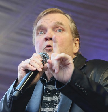 Meat Loaf was in Toronto to help launch the musical version of his 1977 album Bat Out of Hell on Monday May 15, 2017. The musical opens at the Ed Mirvish Theatre on Oct. 14.Veronica Henri/Toronto Sun/Postmedia Network