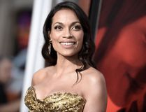 Rosario Dawson attends the premiere of the dramatic thriller 'Unforgettable' at the TCL Chinese Theater in Hollywood, California, on April 18, 2017. (RICHARD SHOTWELL/AFP/Getty Images)
