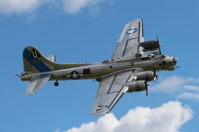 The Sentimental Journey, a Second World War-era B17-G bomber, will be coming to Sarnia in late June, kicking off a week of aeronautically-themed activities. Handout/Sarnia This Week
