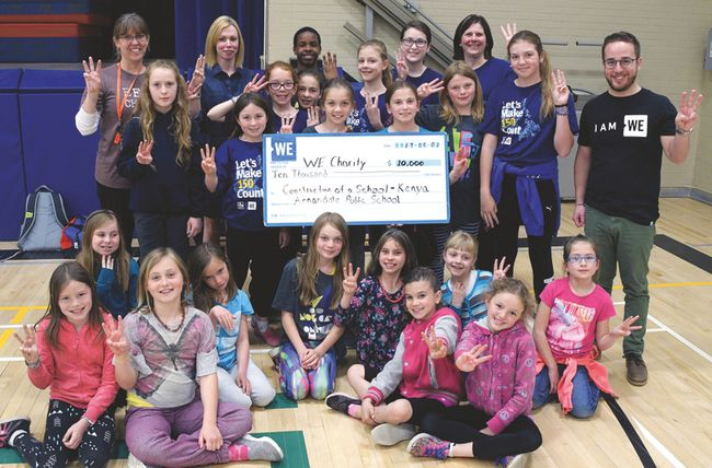 Annandale WE Club recently completed its multi-year fundraiser to build a school in Kenya. (Chris Abbott/Tillsonburg News)