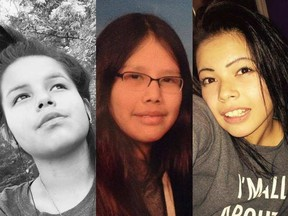 From left: Amy Owen, 13, Kanina Sue Turtle, 15, and Courtney Scott, 16, all died in foster care.