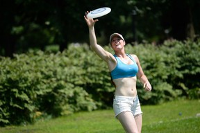 Frisbee on a hot summer day?