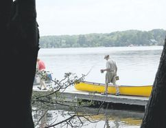 Drop me a line. Heading out to fish at Bass Lake Provincial Park. (Jim Fox/Special to Postmedia News)