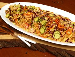 Asian Noodle Salad. (MIKE HENSEN, The London Free Press)