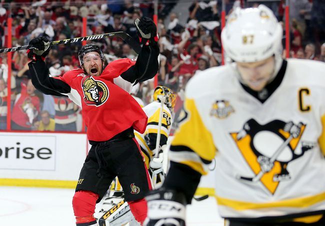 Mark Stone, Sidney Crosby